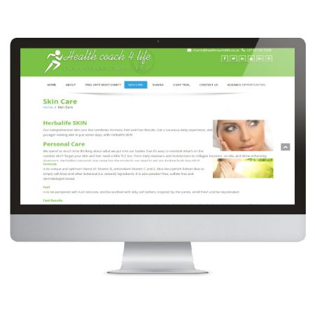 Health-coach-4-life-skin-care-page