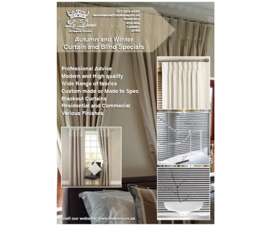 Le-Decor-blinds-and-curtain-leaflet-design