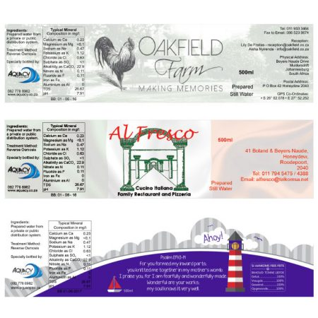 Oakfield-Al-Fresco-and-Ahoy-bottled-water-labels